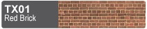 Scalescenes Red Brick Swatch