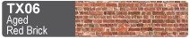 Scalescenes Aged Red Brick Swatch