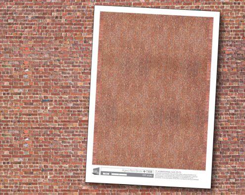 Scalescenes Aged Red Brick