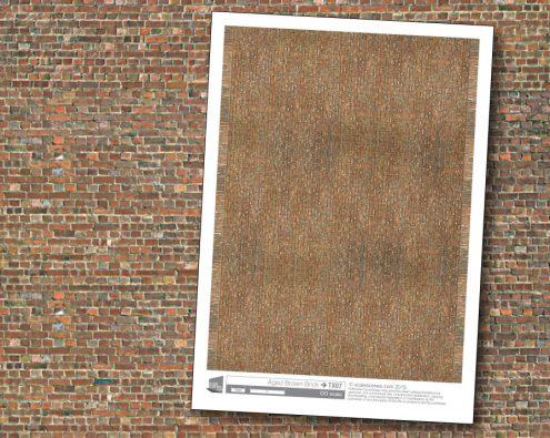 Scalescenes Aged Brown Brick
