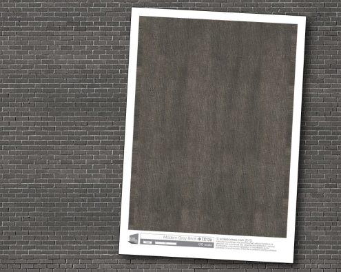 Scalescenes Modern Grey Brick