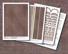Scalescenes Dark Red Brick