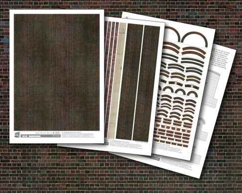 Scalescenes Dark Brown Brick
