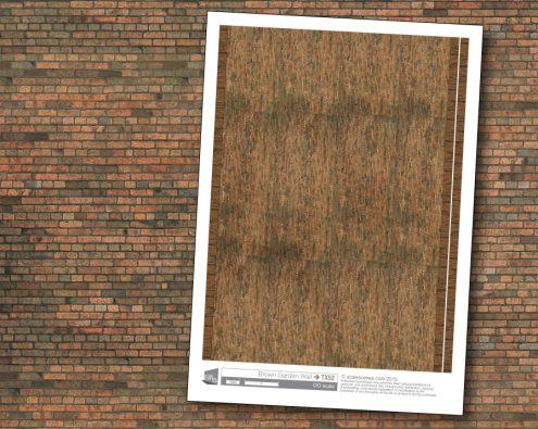 Scalescenes Brown Garden Wall