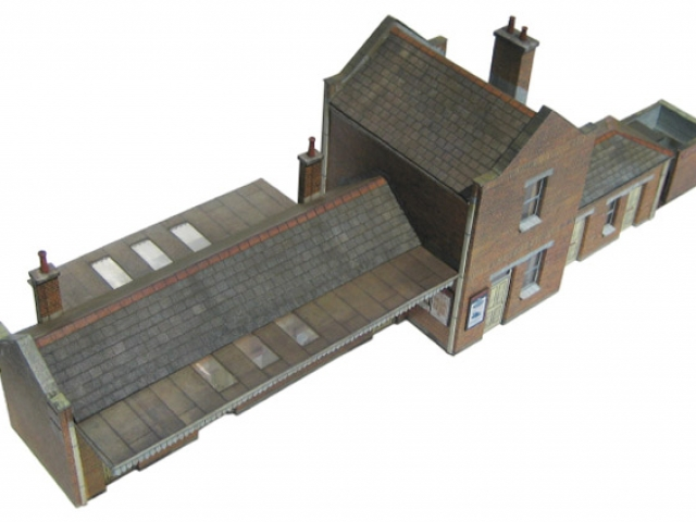 Scalescenes Medium Station Building