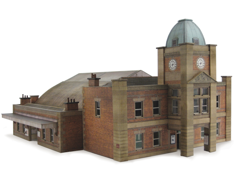 R005 Large Station Building Scalescenes