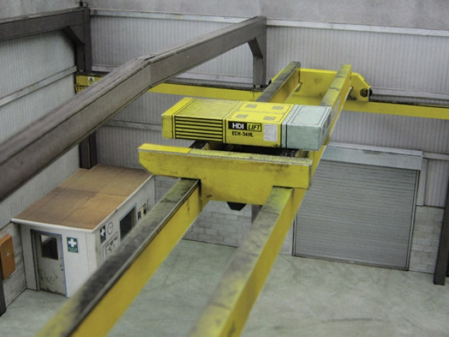 Scalescenes Modern Industrial Building