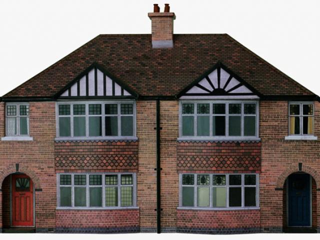 Scalescenes 1930's Semi-detached Houses