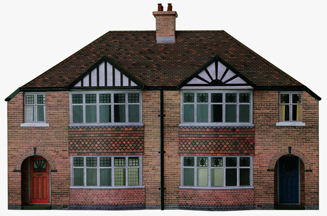 Semi Detached House t013 1930s semi-detached houses - scalescenes