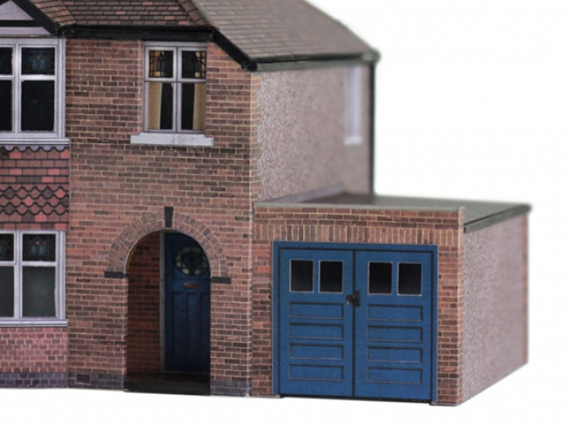 Scalescenes 1930's Semi-detached Houses