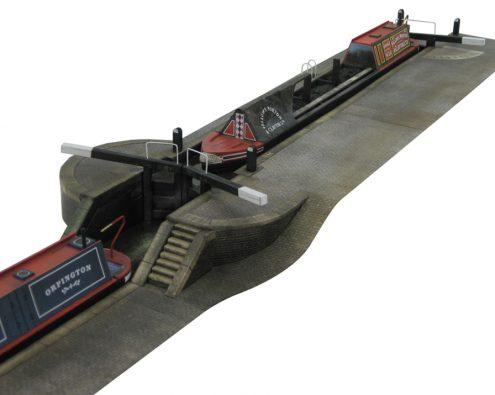 Scalescenes Narrowboats and Lock