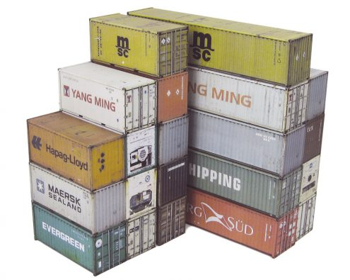 Scalescenes Shipping Containers
