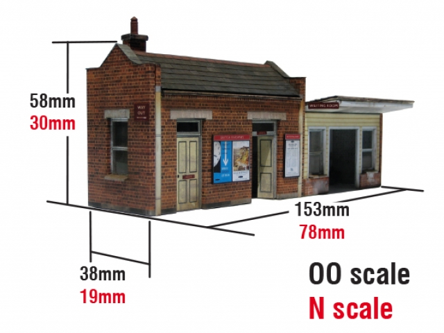 Scalescenes Small Station Building