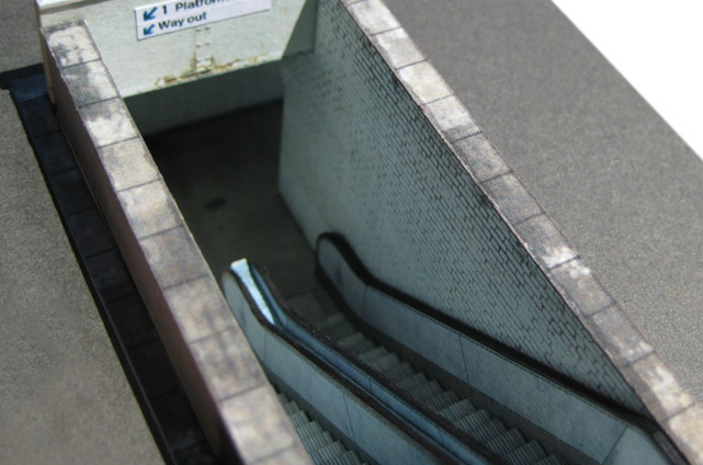Scalescenes R006 Platform Subway