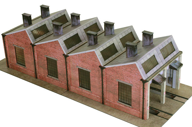 R021b North Light Engine Shed Scalescenes