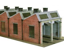 Scalescenes R021b North Light Engine Shed