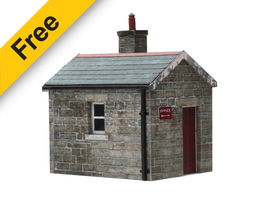 graphic relating to Free Printable Ho Scale Buildings named Railscenes - Scalescenes