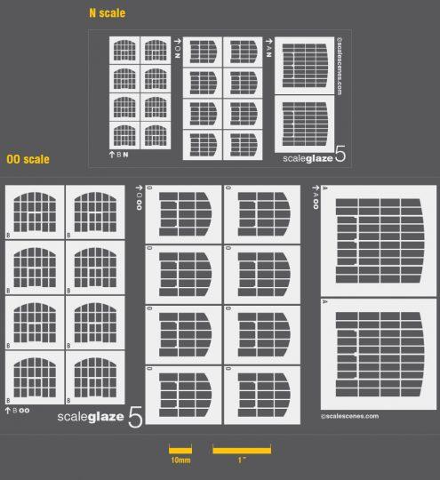 Scaleglaze 5 Arched industrial windows