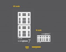Scaleglaze 7 Tripartite sash windows
