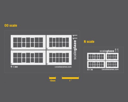 Scaleglaze Small industrial windows