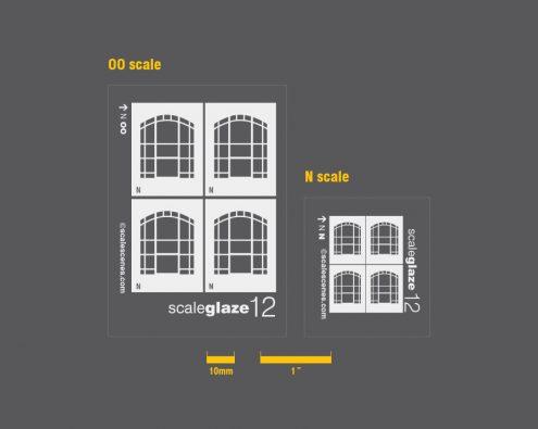 Scaleglaze Ornate arched windows
