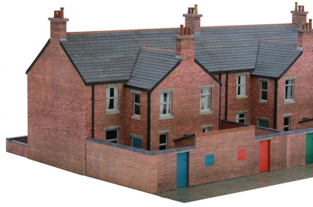 Scalescenes T022a Terraced Houses