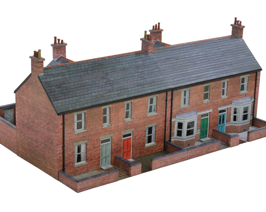 T022a Terraced Houses Scalescenes