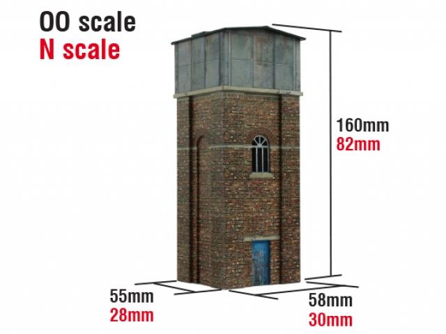 Scalescenes Industrial D Water Tower