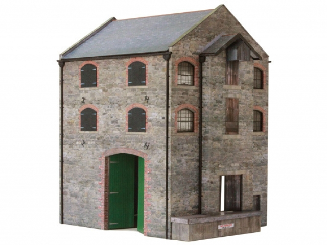 Scalescenes Stone Warehouse Mill