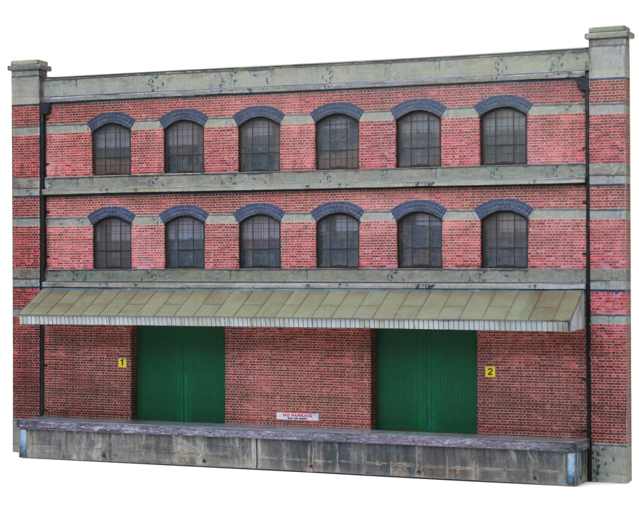 T027 Low Relief Factory Scalescenes