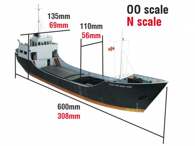 Scalescenes Cargo Ship
