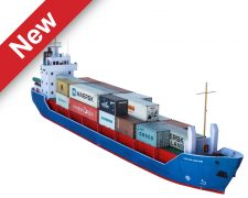 Scalescenes Modern Cargo Ship