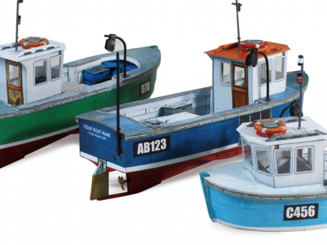Scalescenes Small Fishing Boats