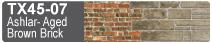 Scalescenes Ashlar and Aged Brown Brick